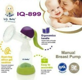 Jual Iq Baby Pompa Asi Manual Breastpump Breast Pump Manual Ergonomics Hijau Lengkap