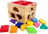 Toko Istana Bintang Mainan Kayu Kotak Pas Natural Terlengkap
