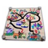 Harga Istana Bintang Mainan Kayu Maze Binatang 2 Muka Original