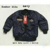 Review Toko Jacket Bomber Anak Navy Online