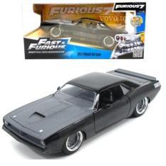 Jada 1:24 Fast & Furious Letty's Plymouth Barracuda - Cc5ee5 - Original Asli