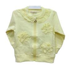 Jual Jaket Bayi Perempuan Import Yellow Usia 6 Bulan Size S Online