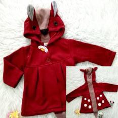 Spesifikasi Jaket Hoodie Cute Rabbit Bayi Anak Paling Bagus