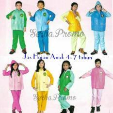 Jas Hujan Anak - Jaket Celana Anak - Jas Hujan Murah By Ghozy Shop.