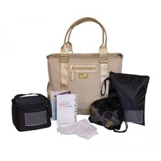 Jay ELLE Oleh J.l. Childress Terra Breast Pompa Tas 6-Kepingan Set, Multi-warna-Internasional