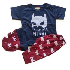 Spesifikasi Jelova Angela 1Pc Setelan Baju Baby Bayi Beric Batt Im The Night Recommended To 3 12 Months 1Pc Random Lengkap
