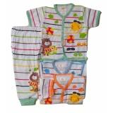 Jual Jelova Angela 3Pasang Setelan Baju Pendek Baby Bayi Canloy Cpr Sni Standart 4 Months Mixcolour Murah