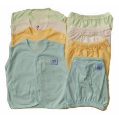 Ulasan Tentang Jelova Angela 4Pc Setelan Baju Kutung Baby Bayi Sni Standart 6 Months Mix Colours