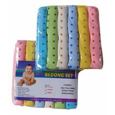 Spesifikasi Jelova Angela 6Pcs Bedong Rainbow Felicia Baby Bayi Premium Quality Sni Standart 1Pac Mix Yang Bagus Dan Murah