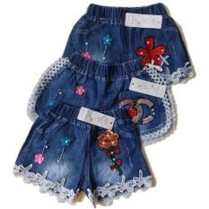 Jelova Angela Celana Hot Pants flowers Baby Bayi Player 6-12 Months - 1pc MOtif
