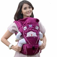 Jelova Angela Gendongan Depan Baby Bayi HIPSEAT JOY Special edition - SNI Standart - PURPLE