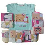 Promo Jelova Angela Kaos Fashion Baby Bayi Little Owl Print Asli 6 12 Months Sni Standart Girls Motif Random 1Pack Isi 3 Di Dki Jakarta