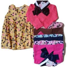 Harga Jelova Mi Angela Dress Cardigan Pita Baby Bayi Print Asli 3 14 Months Sni Standart Random Colours Termurah