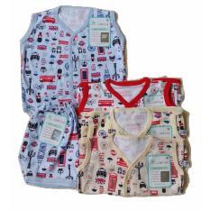 Toko Jelova Angela 4Sett Setelan Baju Kutung Baby Bayi Little Owl London Premium Quality Standart Sni Online