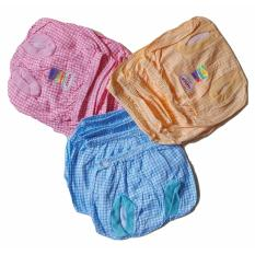 Jelova Baby Angela Selusin Celana POP Baby Usagi SQUARE Bayi Mix Warna - 12pcs - Recommended to 0-12 months