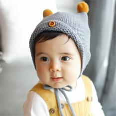 Jiayiqi Baby Boy Girl Bayi Balita Lucu Lembut Baru Lahir Cap Kid Gift-Intl