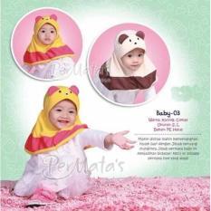 Jilbab Bayi Baby Cantik 0-1Tahun