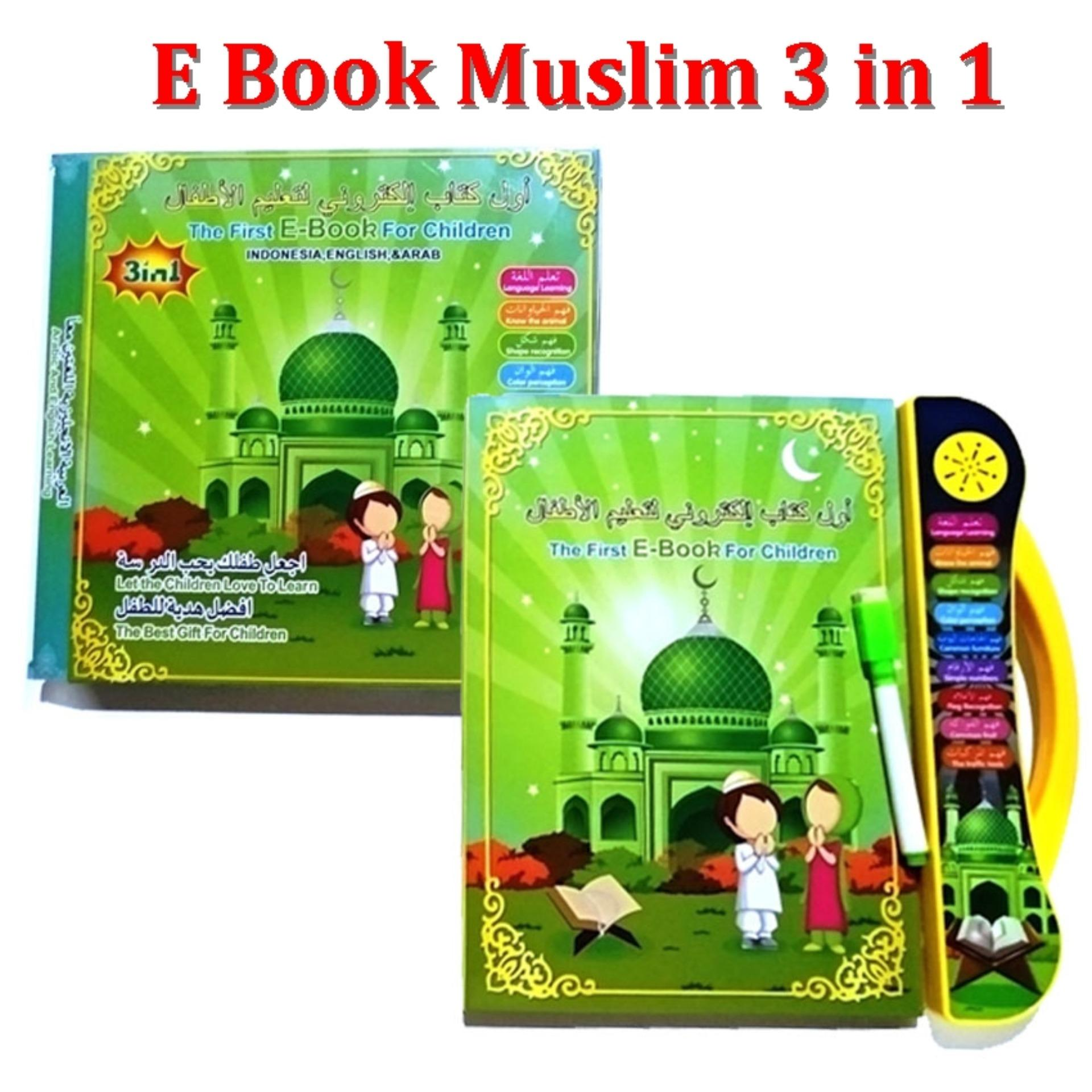 JNO E Book Muslim 3 in 1 / Buku dan Tablet Berbunyi