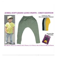 Jobel Long Pants Soft Jeans Grey Edition