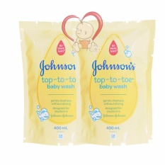 Beli Johnson S Baby Top To Toe Wash Refill 400Ml 2 Pack Murah