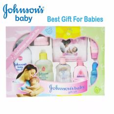 Johnsons Baby Gift Box - Set Hadiah Perawatan Bayi Isi 8 Pcs By Babys Stuff.