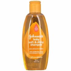 Johnson`s Baby Shampoo Soft & Shiny 200 ml Sampo Bayi