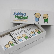 Joking Hazard Party Game Funny Games For Adults With Retail Box Comic Strips Card Games - intl