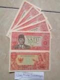 Uang Kuno Rp1 1 Rupiah Sukarno Kondisi Baru N Mulus N Asli Diskon Akhir Tahun