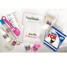 Jumbo Slime Kit Paket Membuat Slaim Besar Jumbo Slime Maker Terbaru