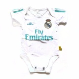 Harga Jumper Bola Bayi Real Madrid Home Bodysuit Baby Happy Pupu Baru