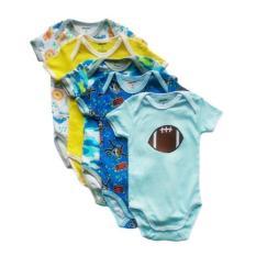 Jual Jumper Carters Pendek 5In1 Baju Bayi Laki Laki Jumper Carter Isi 5 Set Pakaian Anak Cowok Dki Jakarta