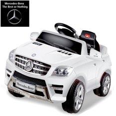 Junior Mobil Aki Mercedes Benz ML350 - Putih (JABODETABEK & PULAU JAWA)