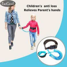 Beli Jvgood Anti Lost Wrist Belt Link Safety Velcro Skin Friendly Cotton Wrist Straps For Toddlers Babies Kids Blue 1 5M Nyicil