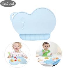 Spesifikasi Jvgood Kids Silicone Placemat Slip Resistant Baby Toddler Plate Table Mat Portable Bpa Free Yang Bagus Dan Murah