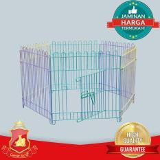 Kandang Pagar Warna Warni Hewan (Anjing - Kucing - Kelinci - Ayam-Dll) - Ce5775 - Original Asli