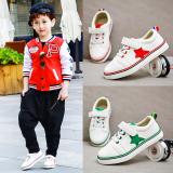 Sayang Kanvas Musim Semi Baru Anak Laki Laki Sepatu Olah Raga Anak Anak Sepatu Sneakers Terbaru