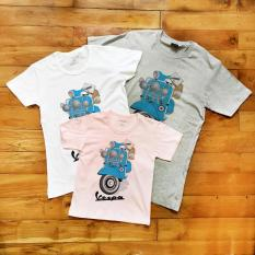 Harga Kaos Anak Blue Vespa Scooter Not Specified Ori