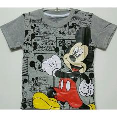 Kaos Anak Karakter Mickey Mouse 1-6 T / Atasan Anak /Baju Anak -Anak