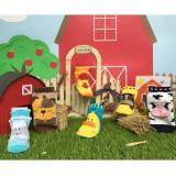 Promo Kaos Kaki Bayi Happy Toes Baby Socks 6In1 Motif Baby Farm 12 24M Happy Baby