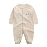 Harga Kapas Bayi Kapas Musim Semi Dan Musim Gugur Lengan Panjang Jumpsuit Sepotong Pakaian Original