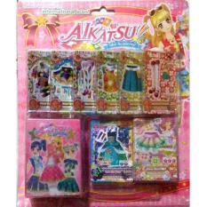 Kartu Aikatsu Idol Academy Import Isi 45+Kartu Lengkap Dengan Box - Soltim