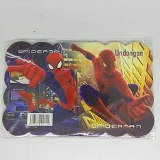 Kartu Undangan Ulang Tahun Anak Lipat / Spiderman By Difie Toys.