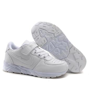 Beli sekarang Anak-anak sepatu olahraga 7 sepatu anak perempuan anak laki-laki Sepatu bayi 4 anak casual putih sepatu sneaker 2018 Musim Semi dan Musim ...