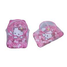 Hello Kitty Karakter Kasur Kelambu Bayi Motif Polkadot