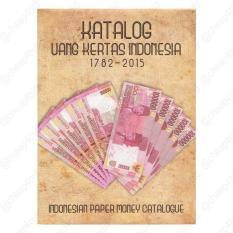 KATALOG UANG KERTAS INDONESIA HARD COVER