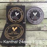 Promo Kawat Vape Kanthal 24Awg 100Ft Vaportech Authentic 9D3Ba5 Original Asli