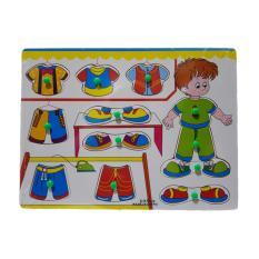 Kayla Org Mainan Edukasi Puzzle Knob TransportasiIDR37500. Rp 37.500