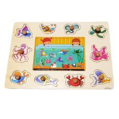 Kayla Org Mainan Edukasi Puzzle Knob Kayu Huruf KecilIDR45000. Rp 45.000