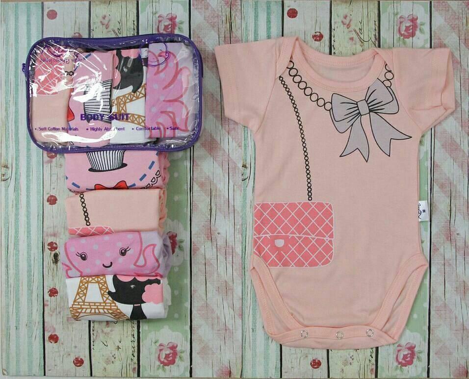 Penjualan Kazel Bodysuit 4in1 Jumper Bayi Modern New Motif Girl L terbaik murah - Hanya Rp100.498