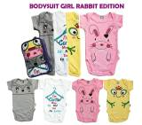Harga Kazel Bodysuit 4In1 Jumper Bayi Modern Rabbit Edition G*rl Branded